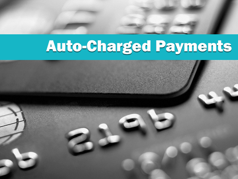 Auto-Charge your Customer's Payments
